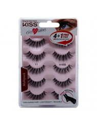 Kiss Ever Ez 11 Lashes 4 + 1 Pairs (2 Pack)