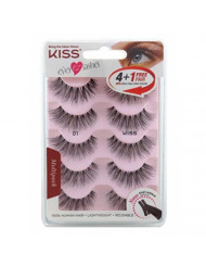 Kiss Ever Ez 01 Lashes 4 + 1 Pairs (2 Pack)