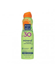 Kiss My Face Organics Mineral Continuous Spray Sunscreen, SPF 30