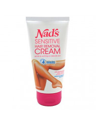 Nads Hair Removal Cream Sensitive 5.1 Ounce Tube (150ml) (3 Pack)