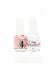 Gelixir matching color & nail lacquer Peach -009