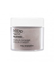 Supernail Prodip Colored Acrylic Dip, Powder Smokey Grey, 0.9 Ounce