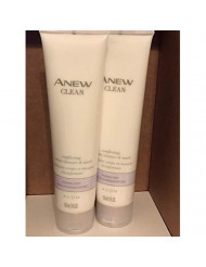 Anew Clean Comforting Cream Cleanser & Mask 5 fl.oz. lot 2 tub