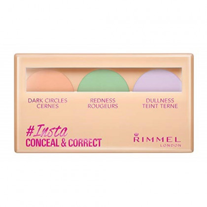 Rimmel Insta Flawless Insta Conceal and Contour Palette, Universal, 0.25 Ounce
