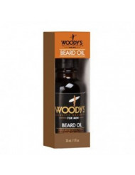 WOODY'S Quality Grooming For Men Beard & Tattoo Oil Natural 1 fl oz