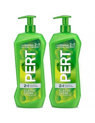 Pert Haircare - Classic Clean - 2 in 1 Shampoo & Conditioner - Net Wt. 33.8 FL OZ (1 L) Per Bottle - Pack of 2 Bottles