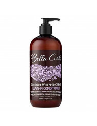 Bella Curls Coconut Whipped Creme Leave-in Conditioner, 16 Oz