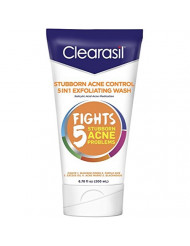 Clearasil Ultra 5in1 Exfoliating Wash, 6.78 oz. (Pack of 10)