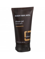 Every Man Jack, Shave Gel Sandalwood, 5 Fl Oz
