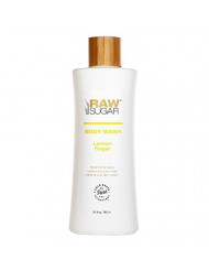 Raw Sugar Lemon Sugar Natural Body Wash 25oz