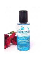 Sephora Waterproof Eye Makeup Remover With Cornflower Extract 0.84 oz Travel Size