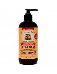 Sunny Isle Extra Dark Jamaican Black Castor Oil Extreme Hydration And Detangling Conditioner, Black, 12 Fluid Ounce