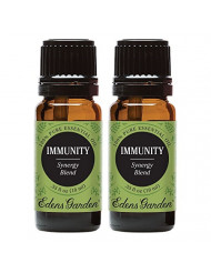 Edens Garden Immunity Essential Oil Synergy Blend, 100% Pure Therapeutic Grade (Highest Quality Aromatherapy Oils- Allergies & Cold Flu), 10 ml Value Pack