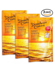 Sunset Serenity Bath Essence From Germany 3 PK by Dresdner Essenz