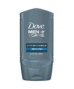 Dove Men+Care Post Shave Balm, Hydrate 3.40 oz (8 Pack)