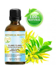 YLANG YLANG ESSENTIAL OIL- Cananga odorata genuina. 100% Pure Therapeutic Grade, Premium Quality, Undiluted. 0.17 Fl.oz.- 5 ml.
