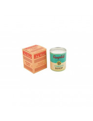 Andy Warhol Scented Campbell's Soup Can Candle - Turquoise / Yellow (Pop Wood Scent)