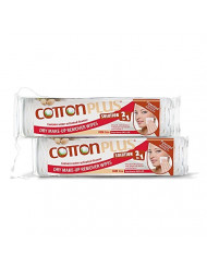 COTTON PLUS SOLUTION 2 IN 1 - EYE AND FACE MAKE-UP REMOVER MINI 80 ARGAN DUO SET