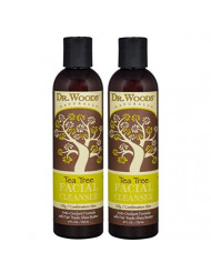 Dr. Woods Shea Vision Tea Tree Liquid Facial Cleanser with Organic Shea Butter, 8 Ounce (Pack of 2)