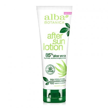 Alba Botanica Very Emollient After Sun Lotion 85% Aloe - 8 Oz