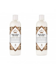 PACK OF 2 - Nubian Raw Shea Butter Body Lotion, 13.0 FL OZ