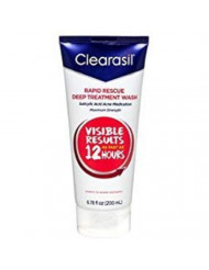 Clearasil Ultra Daily Face Wash 6.78 oz (Pack of 2)