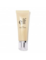 e.l.f. Beautifully Bare Natural Glow Lotion With Aloe, Luminous Gold, Net 0.85 Fl Oz