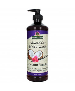 Nature's Answer Body Wash With Pure Essential Oil, Coconut Vanilla, 16 Oz