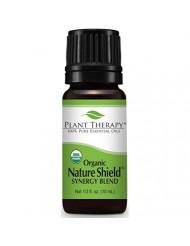 Plant Therapy Nature Shield Organic Synergy Essential Oil 10 mL (1/3 oz) 100% Pure, Undiluted, Therapeutic Grade