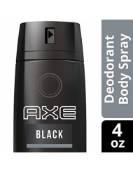 AXE  Black Body Spray for Men 4 OZ
