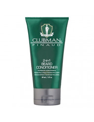 Clubman Beard 2-In-1 Conditioner 3 Ounce Tube (88ml) (6 Pack)