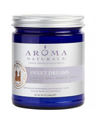 Sweet Dreams Aromatherapy One 3 X 3 Inch Jar Aromatherapy Candle. Combines The Essential Oils Of Grapefruit, Fennel, Ch
