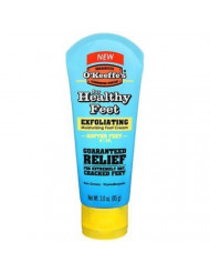 O'Keeffe's Healthy Feet, Exfoliating Foot Cream, 3 oz. Tube - 2 Pack