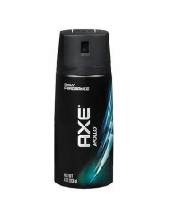 Axe Deodorant Bodyspray Apollo- 4 oz, Pack of 2
