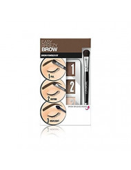 Covergirl Easy Breezy Brow Powder Kit, 705 Rich Brown (Pack of 2)