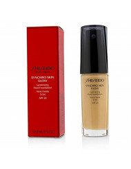 Shiseido Synchro Skin Glow Luminizing Fluid Foundation SPF 20, No. 2 Neutral, 1 Ounce