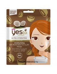 Yes to Coconuts Moisturizing DIY Powder-to-Clay Mask 0.25oz , Pack of 1