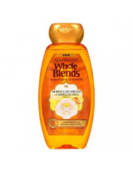 Garnier Whole Blends Shampoo Moroccan Argan Camellia 12.5 Ounce (370ml) (2 Pack)