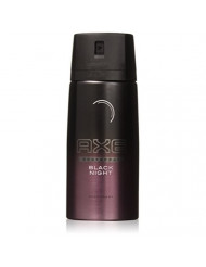 AXE BODYSPRAY BLACK NIGHT DEODORANT 150ML (LOT OF 6)