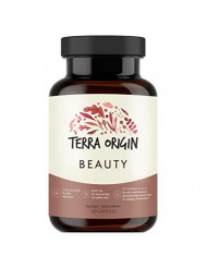 Terra Origin, Healthy Beauty Supplement, Capsules, 30 Servings, for Healthy Skin, Hair and Nails with Biotin, Collagen Hydrolysate and Vitamins