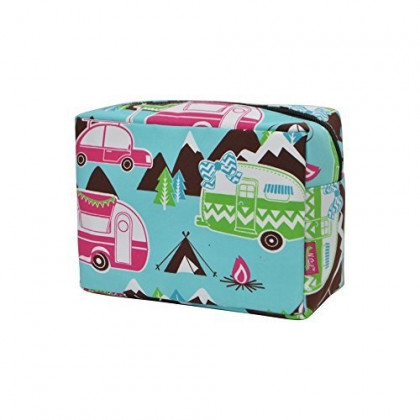 Happy Camper NGIL Large Cosmetic travel Pouch