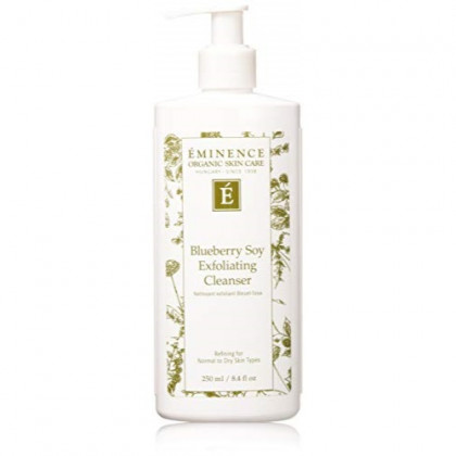 Eminence Blueberry Soy Exfoliating Cleanser, 8.4 Ounce