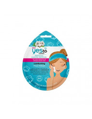 Yes to Cotton Protects & Minimizes Irritation Ultra-Sensitive Mud Mask, 1 Single Use Mask
