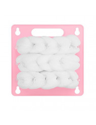 The Back Scratch Scrubber (Pink Cloud) by The Ãœya Company (TM) - The Complete, Hands-Free, Back Skin Care System for Scratching, Scrubbing & Exfoliating Your Back Every Time You Shower