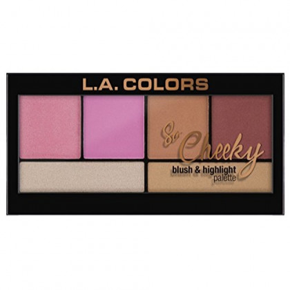L.A. Colors So Cheeky Blush, Pink and Playful, 1 Ounce
