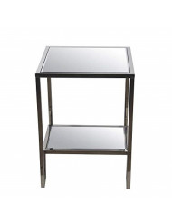 Privilege Accent Steel Table