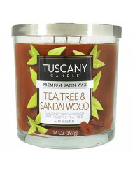 Tuscany Sandalwood Candle, 14 Ounce