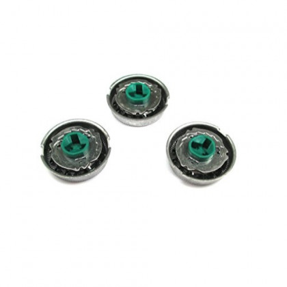 Set of 3 Replacement Shaver Heads for Replacing Philips Norelco HQ64 HQ54 HQ5705 HQ6070 HQ6073 7310XL PT710