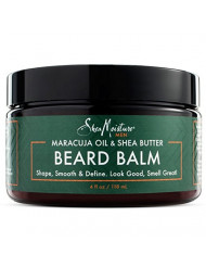 Shea Moisture Mens Beard Balm, All Natural ingredients, Made With Maracuja Infused Shea Butter, Shape-Smooth & Define, 4 Ounce