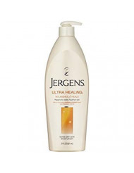 Jergens Ultra Healing Extra Dry Skin Moisturizer, 21 Ounce Bottle (Pack of 5)